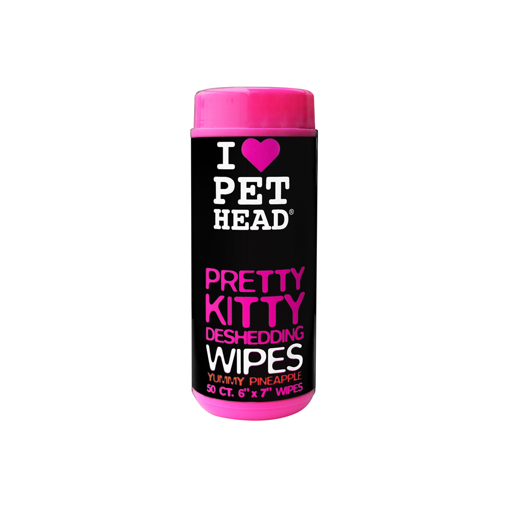 Pet Head Pretty Kitty Deshedding Wipes
