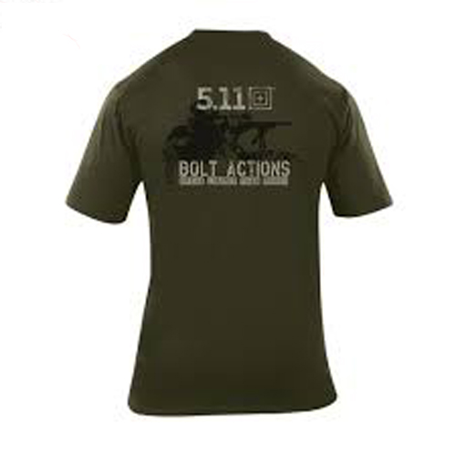 5.11 Bolt Action Logo Short Sleeve T-Shirt 40088B