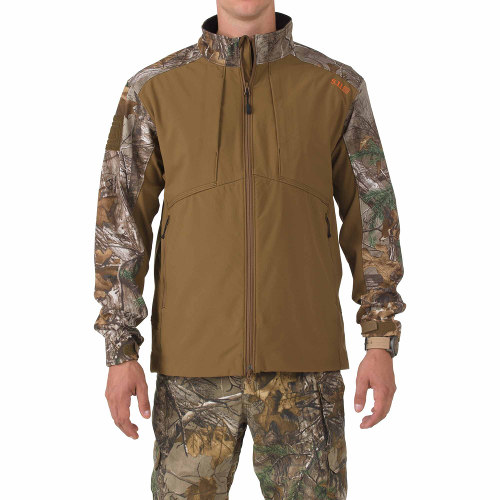 5.11 Mens Realtree Sierra Softshell Jacket 78010