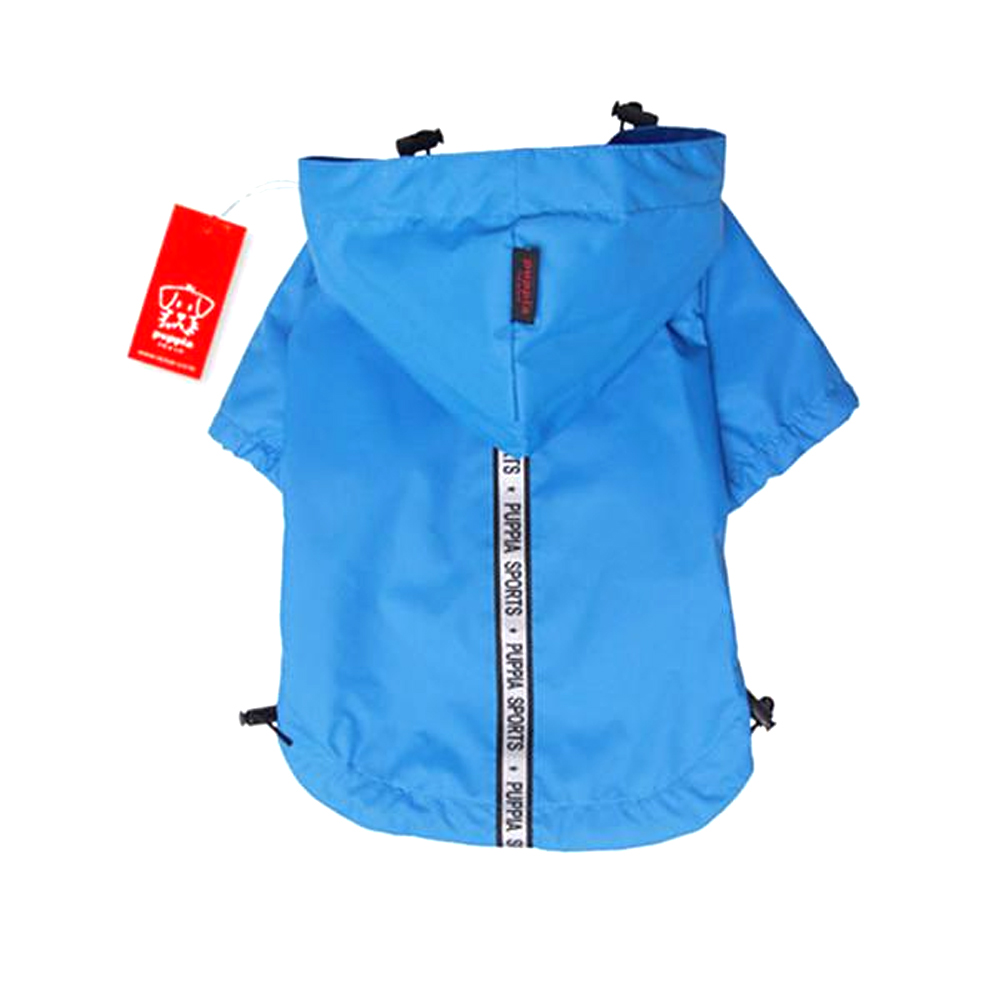 Puppia - Apparel - Base Jumper Raincoat SKY BLUE