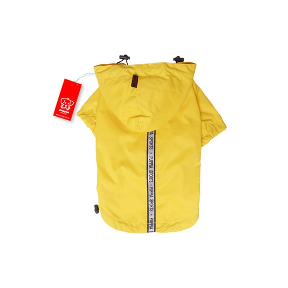 Puppia - Apparel - Base Jumper Raincoat YELLOW