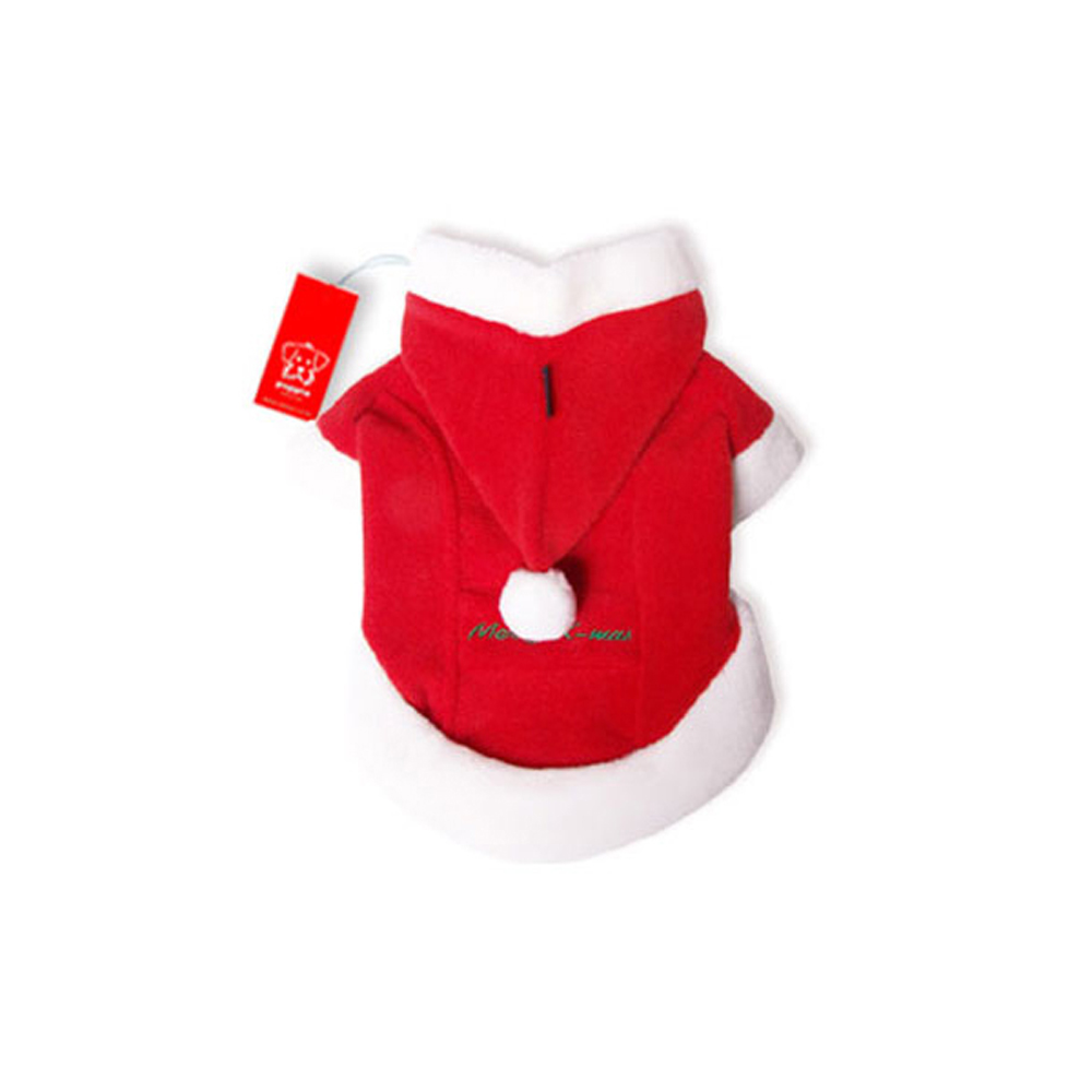 Puppia - Apparel - Santa Coat RED