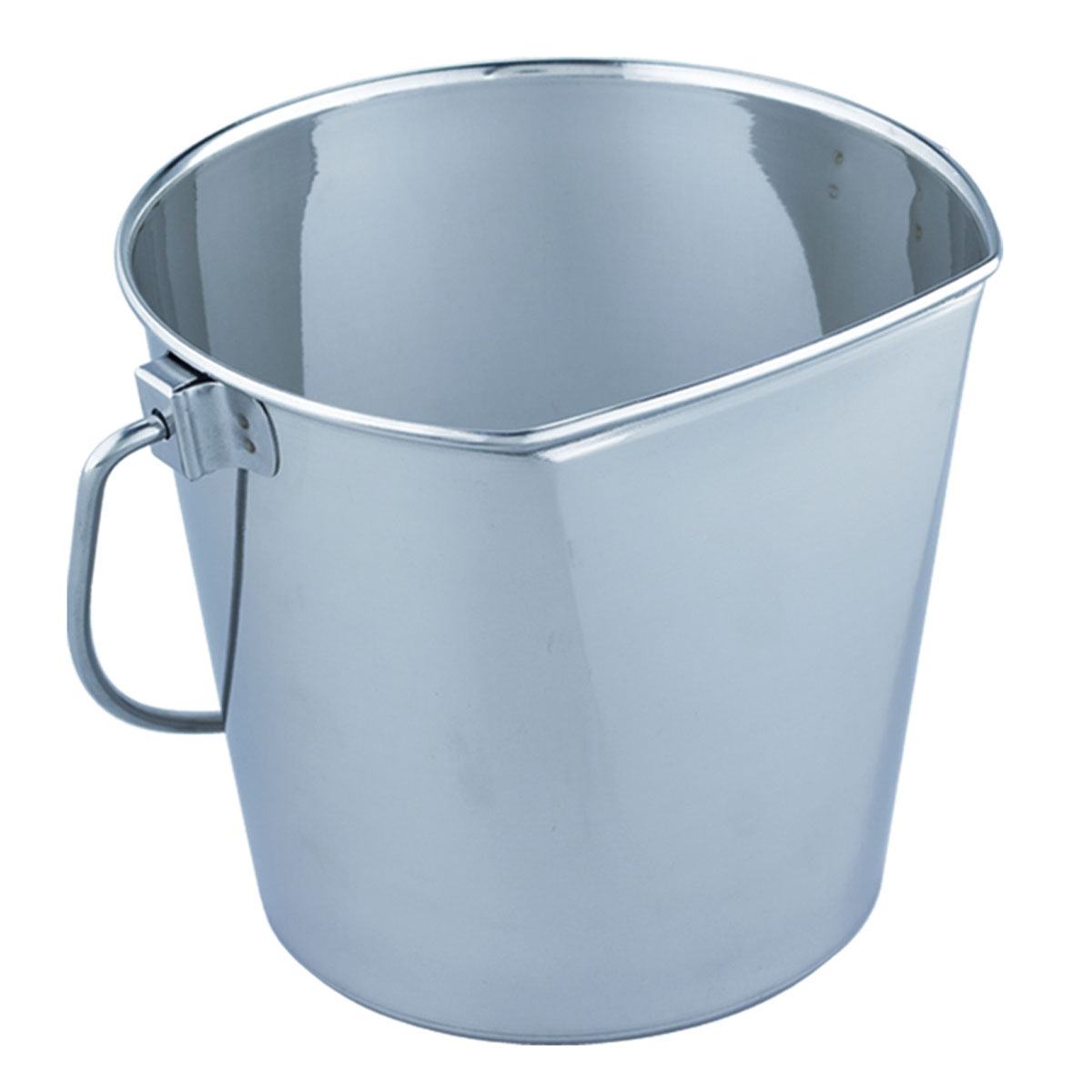 QT Dog - Flat Sided Bucket SS