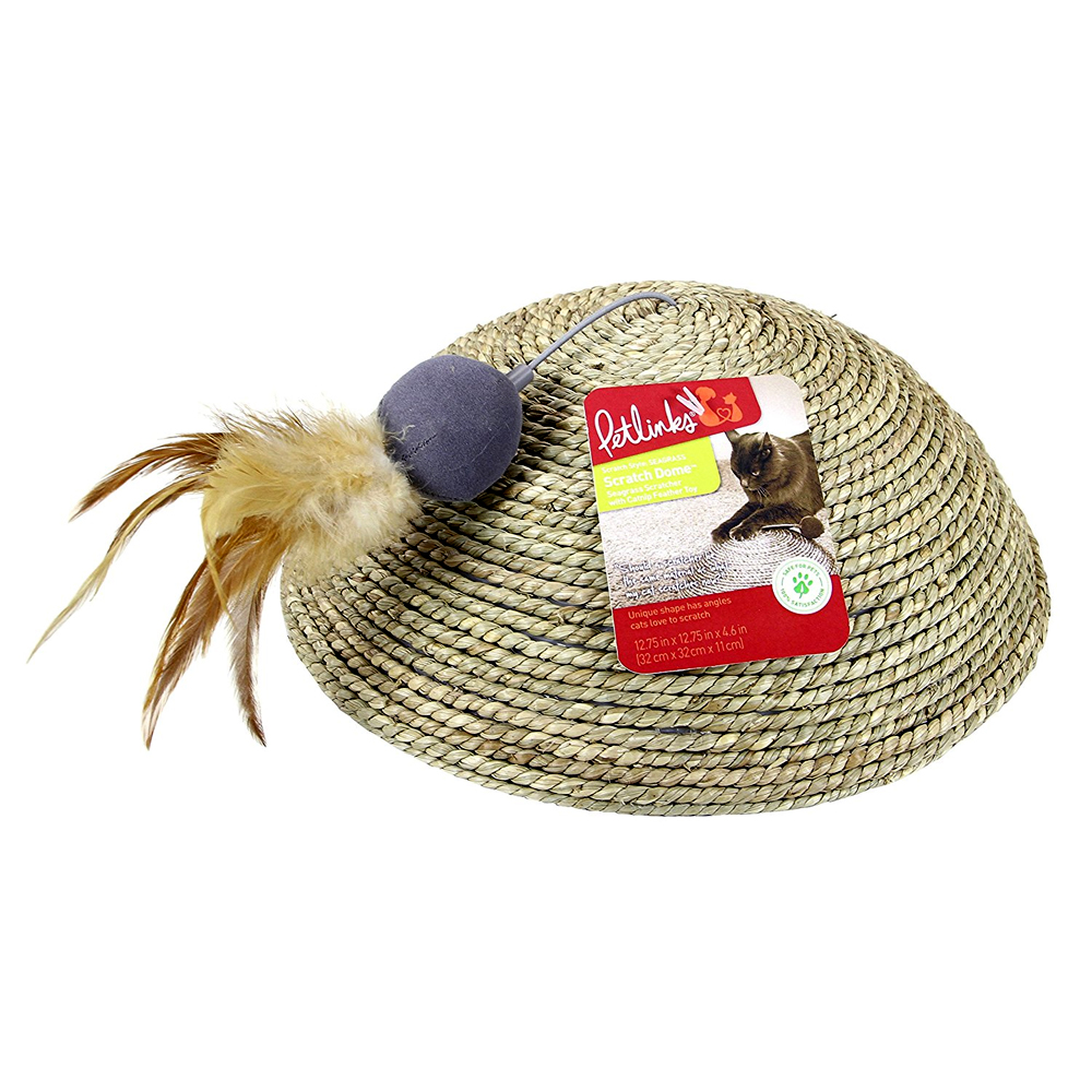 Petlinks Scratch Dome Floor Scratcher