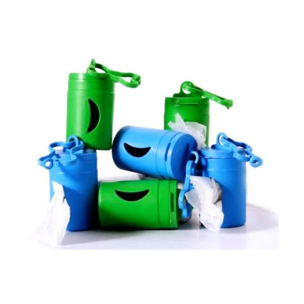 Green Pet Bio Bag Dispenser