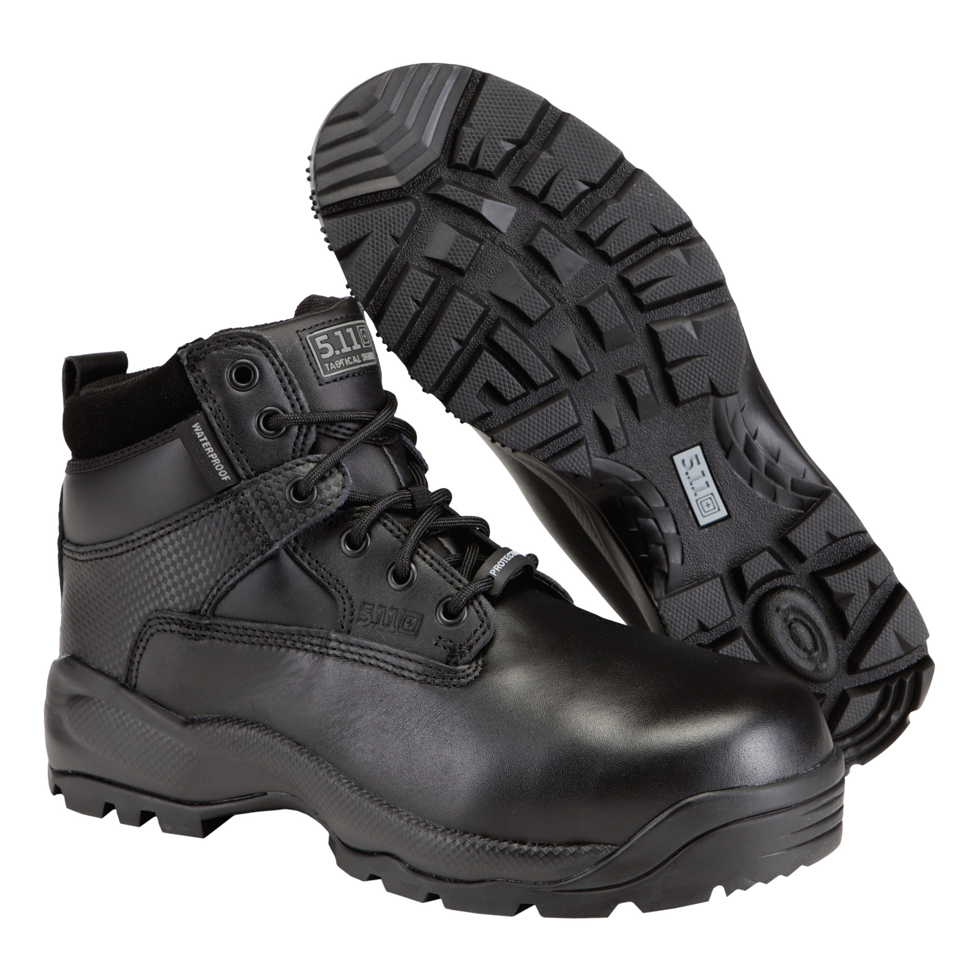 5.11 SHIELD 6 in SideZip SafetyToe Boot 12019