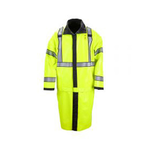 5.11 Mens Long Rev Hi-Viz Rain Coat 48125