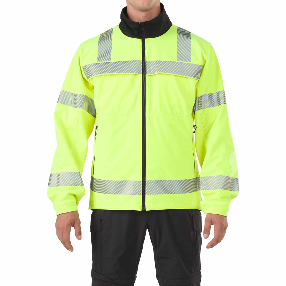 5.11 Mens Hi-Viz Rev Softshell Jacket 48171
