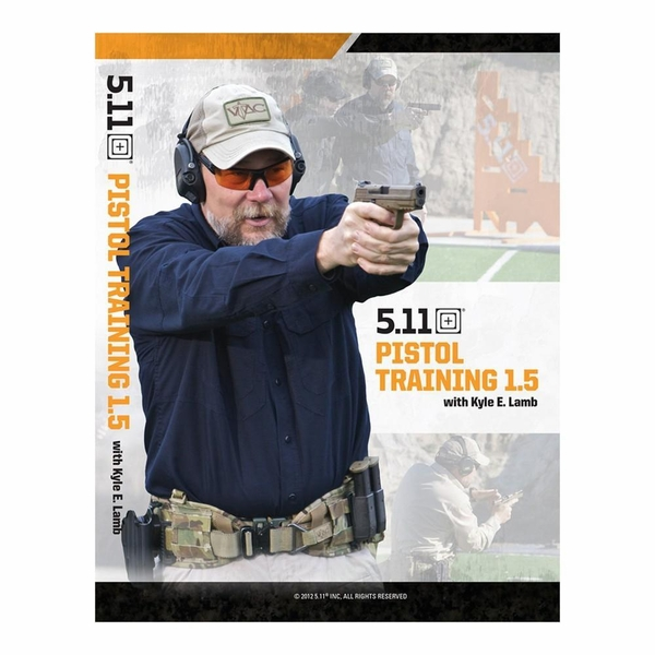 5.11 Tactical Pistol Training Video 58880