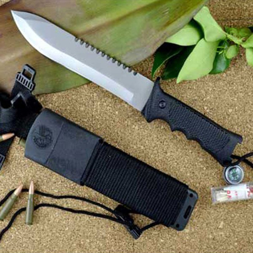 Fury Recon Survival Knife Kit w Sawback