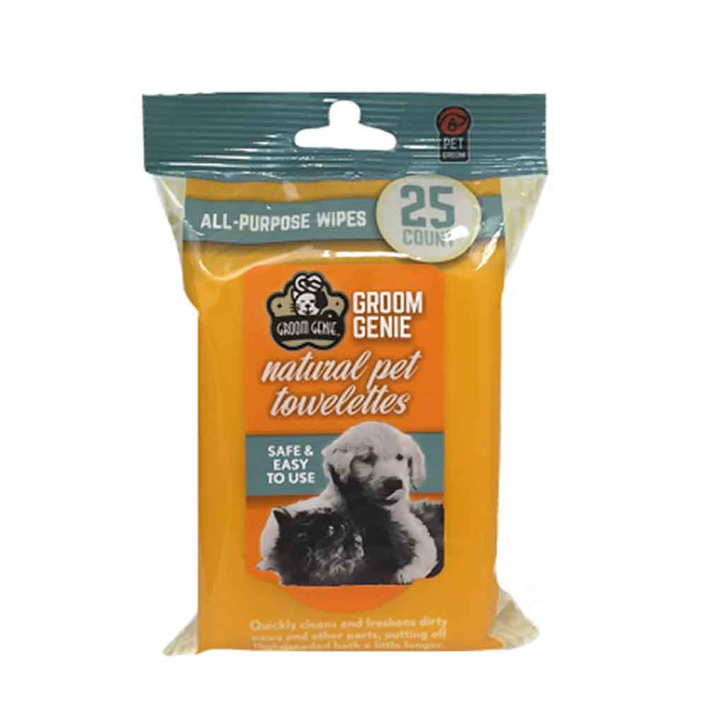 MultiPet - Groom Genie All-Purpose Wipes