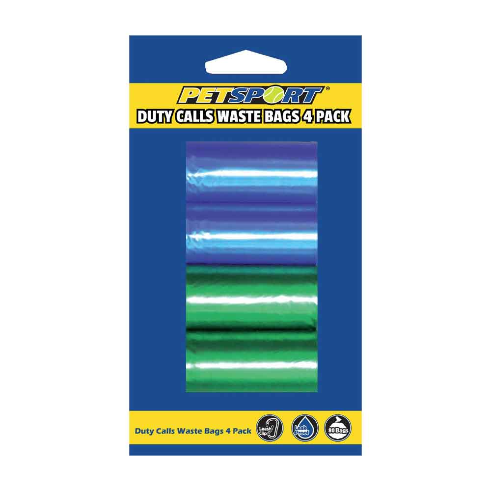 PetSport - Duty Calls Waste Bag 4-pack Refill
