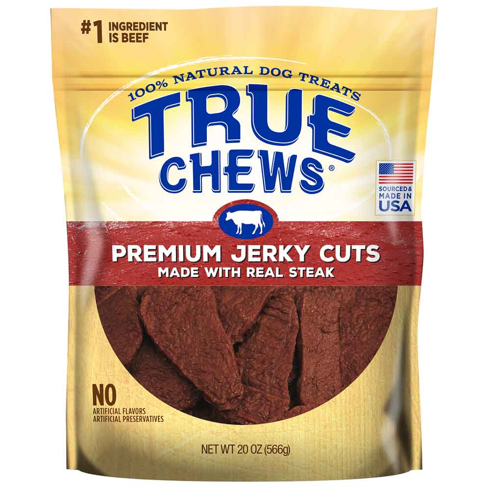 True Chews® Sirloin Steak Jerky Filets
