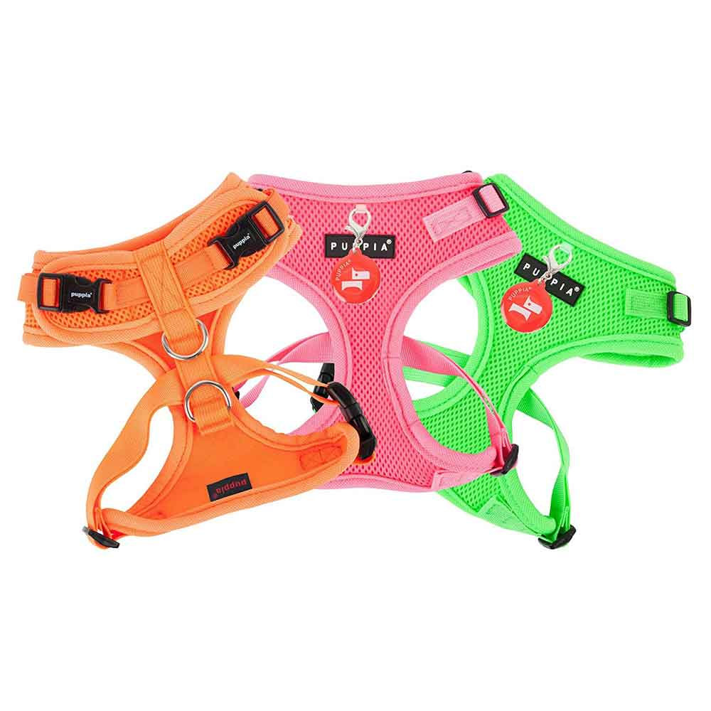 Puppia - Harness II - Soft Neon