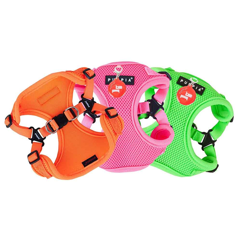Puppia - Harness C - Soft Neon