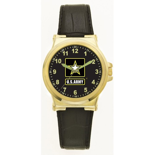 Aquaforce Series 55 - Gold Jumbo Retro Watch