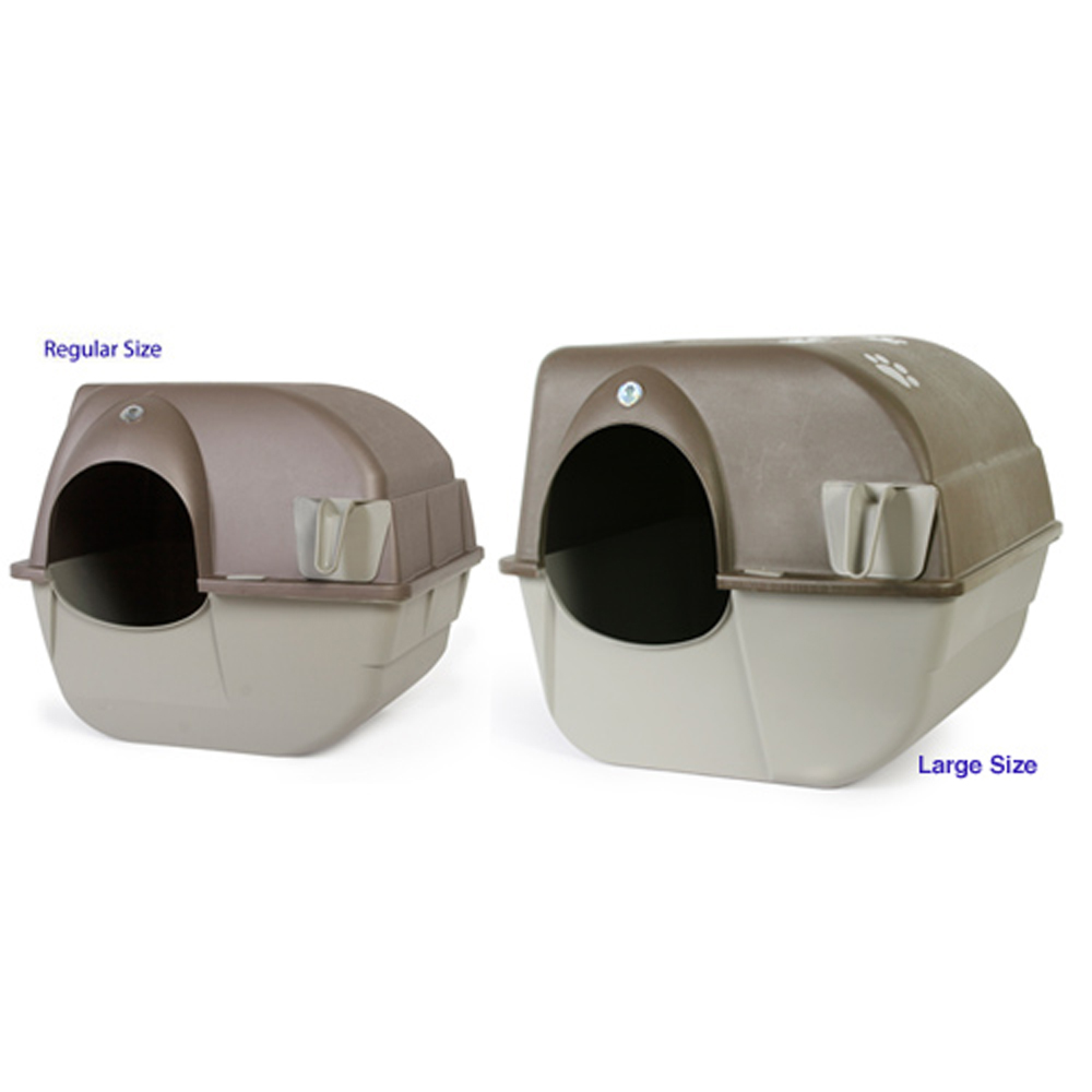 Omega Paw Roll n Clean Self Cleaning Litter Box