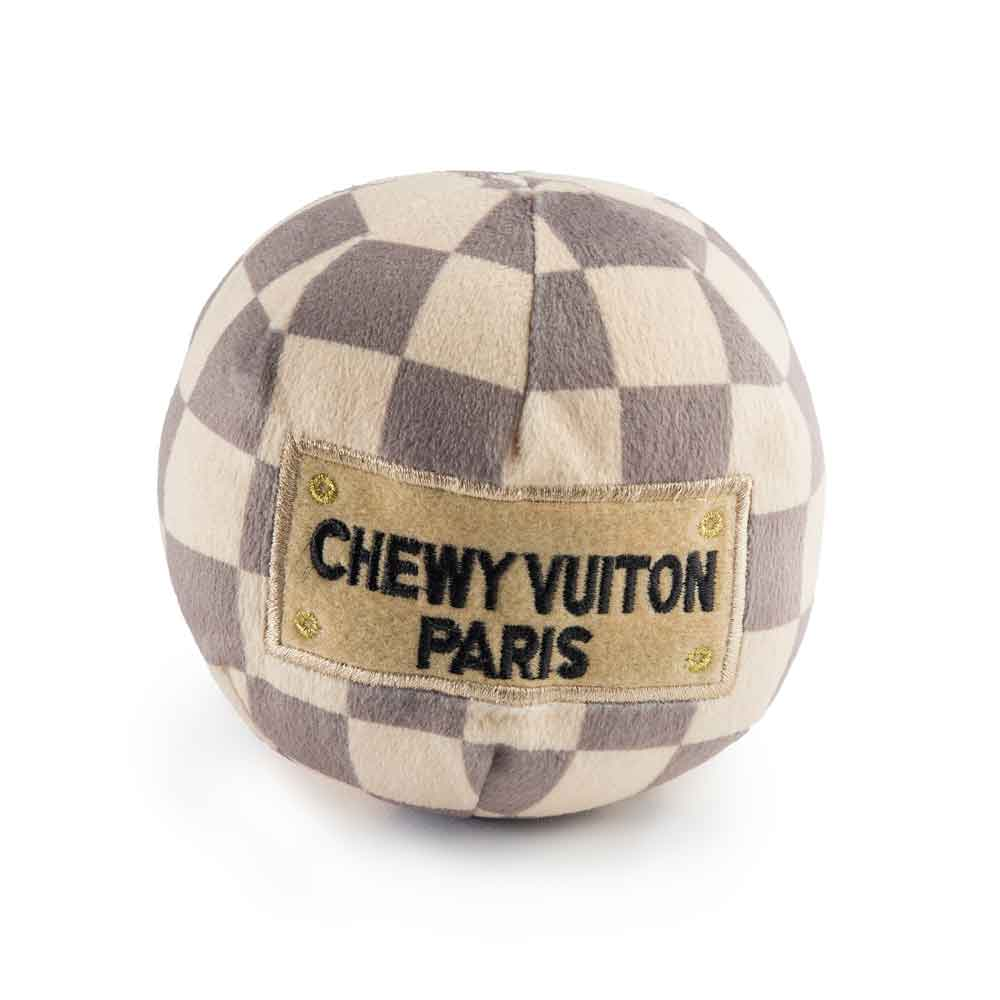 Haute Diggity Dog Checker Chewy Vuiton Ball