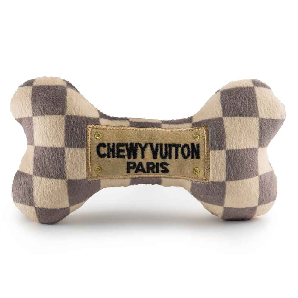 Haute Diggity Dog Checker Chewy Vuiton Bone