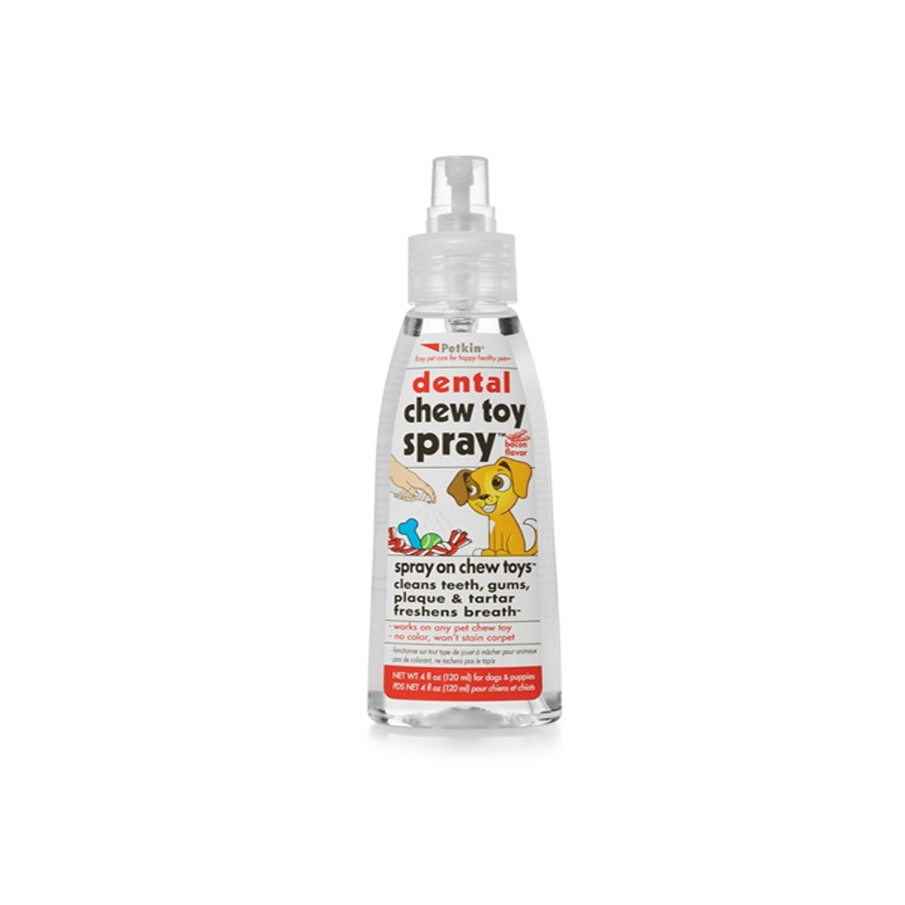 Petkin Dental Chew Toy Spray