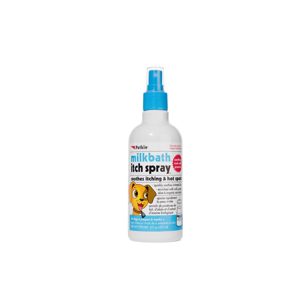 Petkin Milkbath Itch Spray