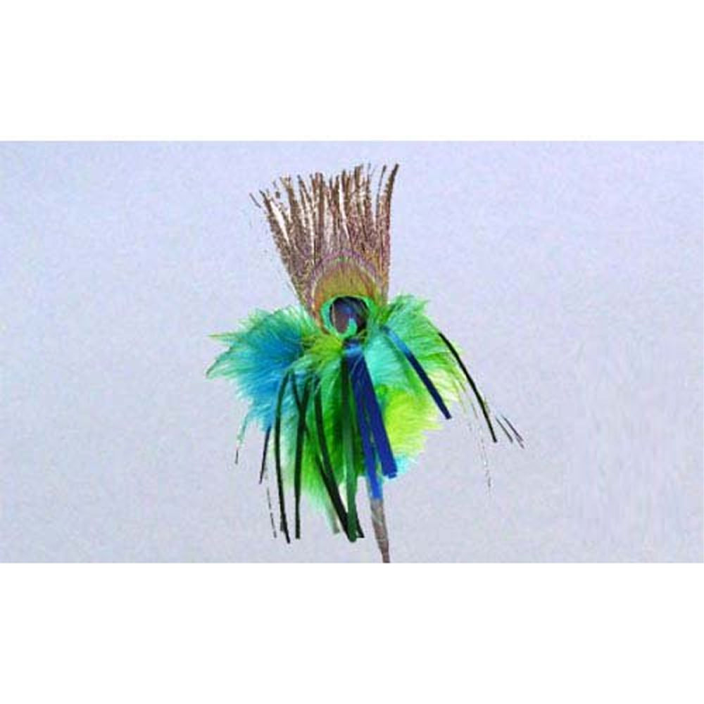 GoCat Peacock Sparkler Stick Toy