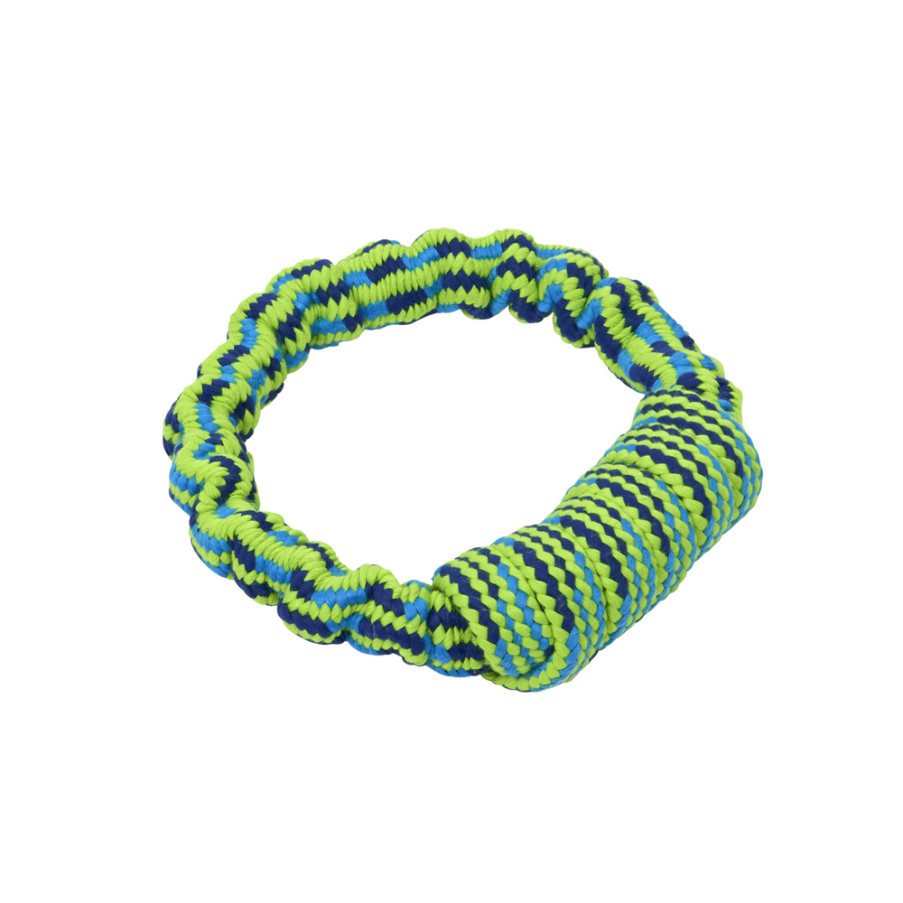 BUSTER Bungee Rope Dog Toy - Ring
