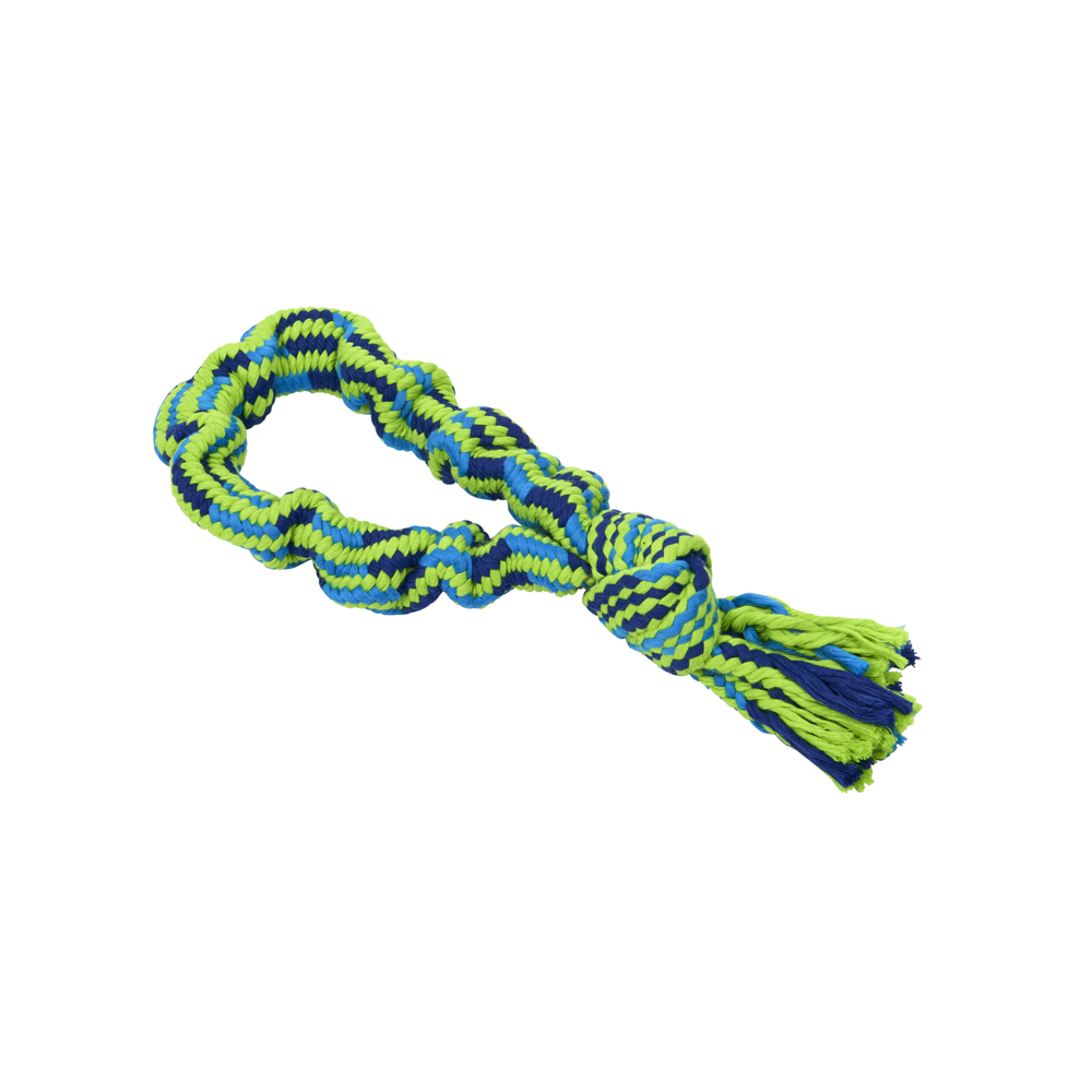 BUSTER Bungee Rope Dog Toy Single Knot