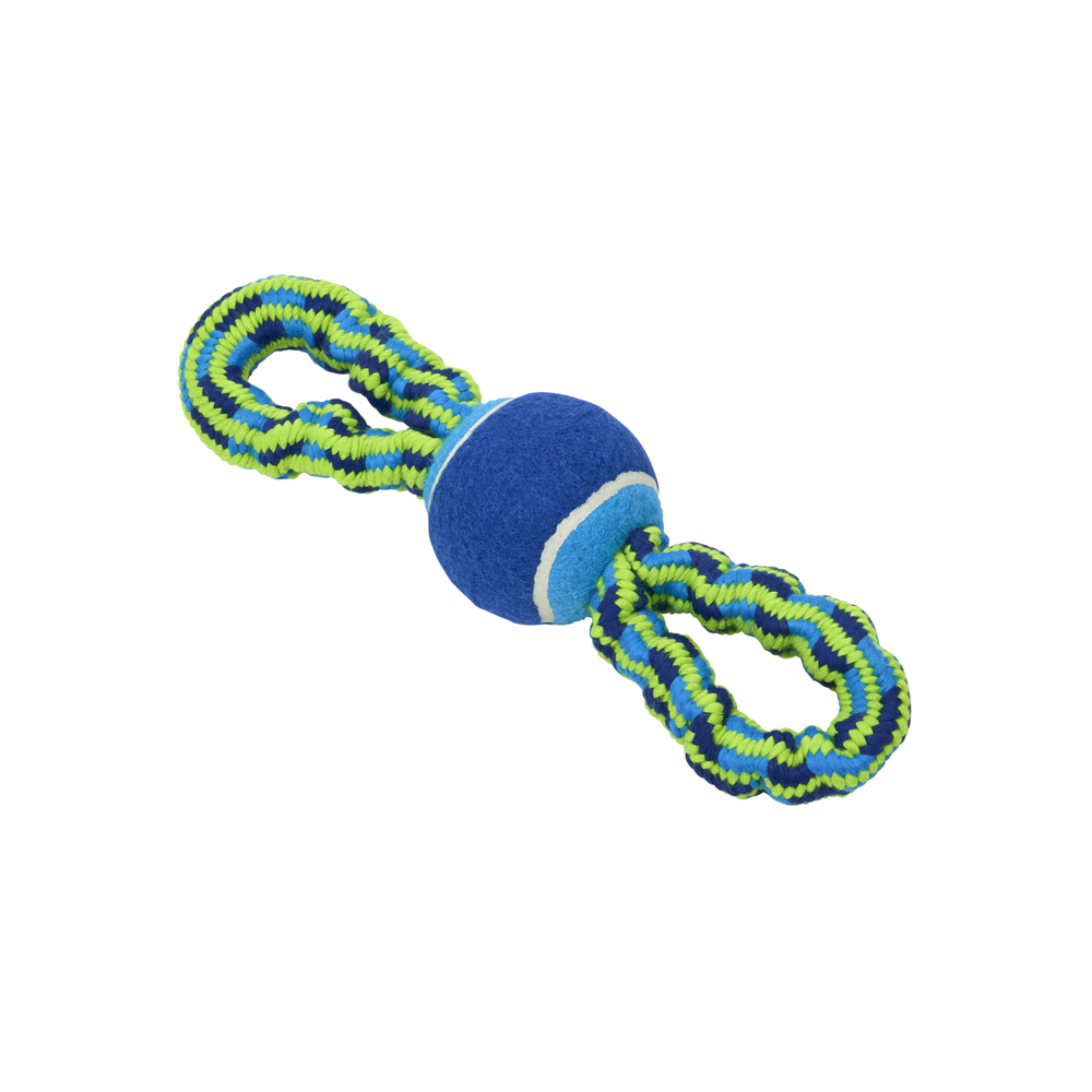 BUSTER Bungee Rope Toy Double Handle