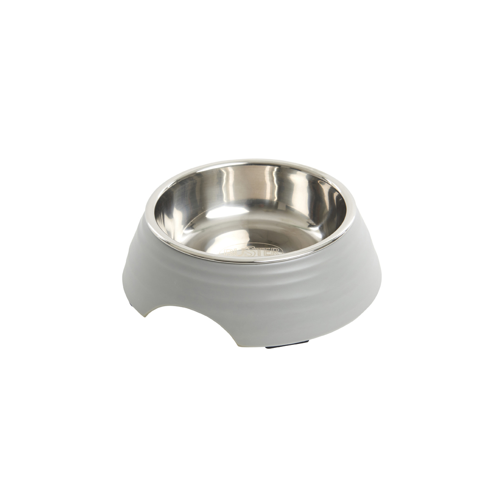 BUSTER Frosted Ripple Dog Bowl Matte