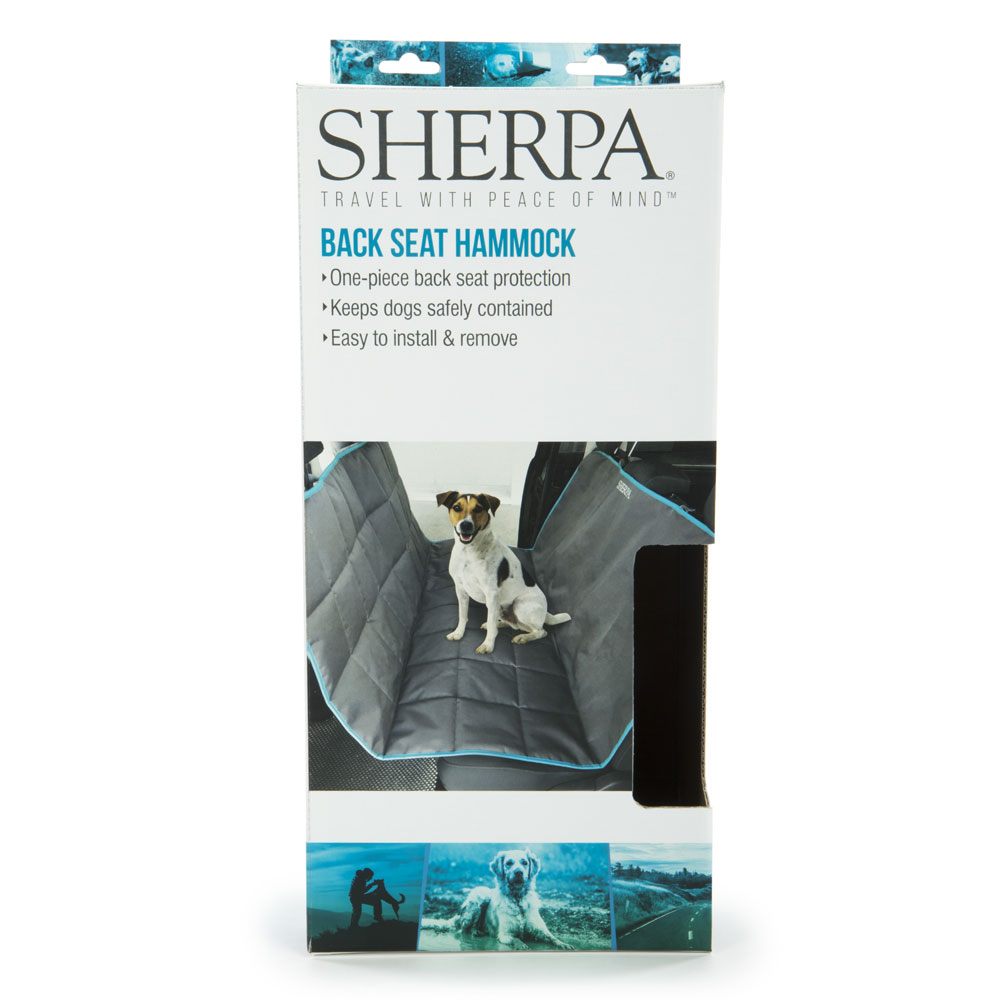 Sherpa Car Back Seat Cover