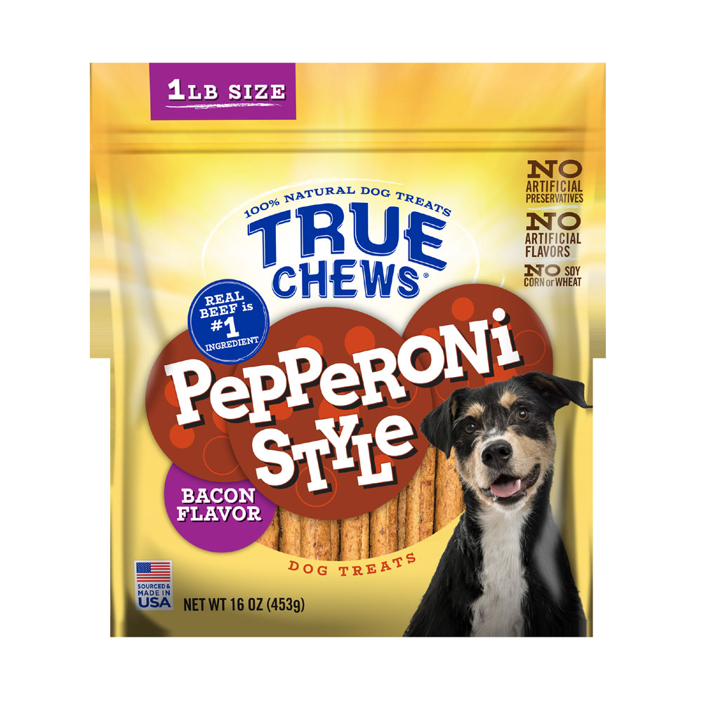 True Chews Pepperoni Style